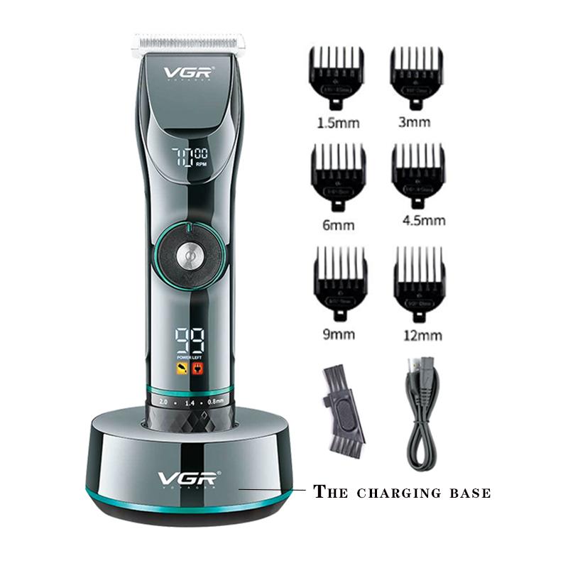 Professional adjustable hair trimmer finishing fading blending hair clipper electric hair cutter beard trimer precision machine