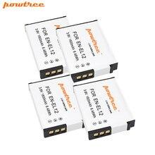 Powtree – batterie EN EL12 pour Nikon CoolPix S610 S610c S620 S630 S710 P300 P310 P330 S6200 S6300 S9400 S9500, 1800mAh