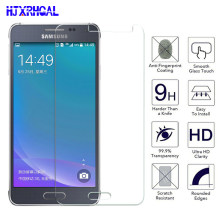 Tempered Glass On For Samsung Galaxy J3 J5 J7 2016 2017 J2 J5 J7 Prime Screen Protector For Samsung J2 J4 J6 J8 Protective Film(China)