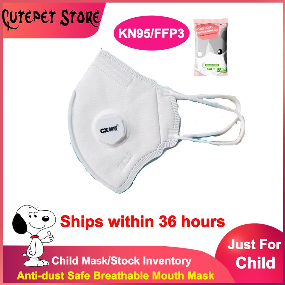 10pcs/lot Dust Anti-Fog Child FFP3 KN95 Mask PM2.5 Anti Face Mouth Warm Masks Healthy Air Filter Dust Proof Protection