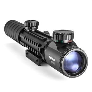 Image 3 - 3 9x32 eg狩猟スコープレッド/グリーンドットイルミネーション視力戦術狙撃スコープw/22ミリメートル空気銃