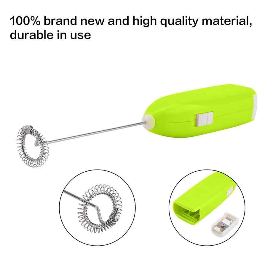 Handheld Egg Beater Electric Susu Frother Foamer Susu Minum Kopi Kocokan Mixer Alat Rumah Tangga Telur Memasak Pengaduk Dapur Gadget