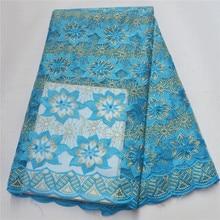 Afrykański haftowany tiul koronka tkaniny wysokiej jakości nigeryjski koronki ślubne tkaniny francuski koronki netto na wieczorne przyjęcie PFN003