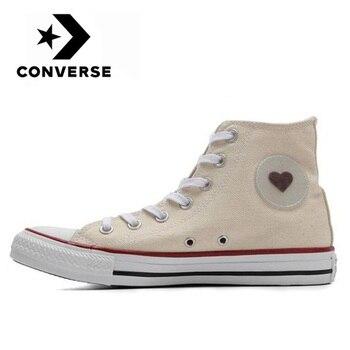 Converse Chuck Original Taylor All Star amor, Denim alta, zapatos de skate...