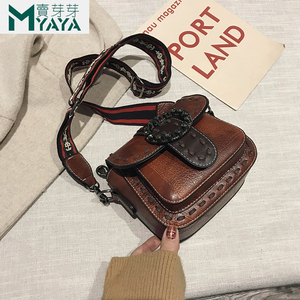 Image 3 - MAIYAYA Leather Shoulder Bag For Woman 2020 New Fashion Small Crossbody Bags Zippers Decoration Spring Flap Bags Messenger Bag