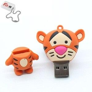 Image 5 - Hoạt Hình Dễ Thương Ổ Đĩa Flash USB 32GB Động Vật Heo Thỏ Pendrive 64GB Dung Lượng Thực 4GB 8GB 16GB Thẻ Nhớ Tôi Ổ Đĩa Flash Bút