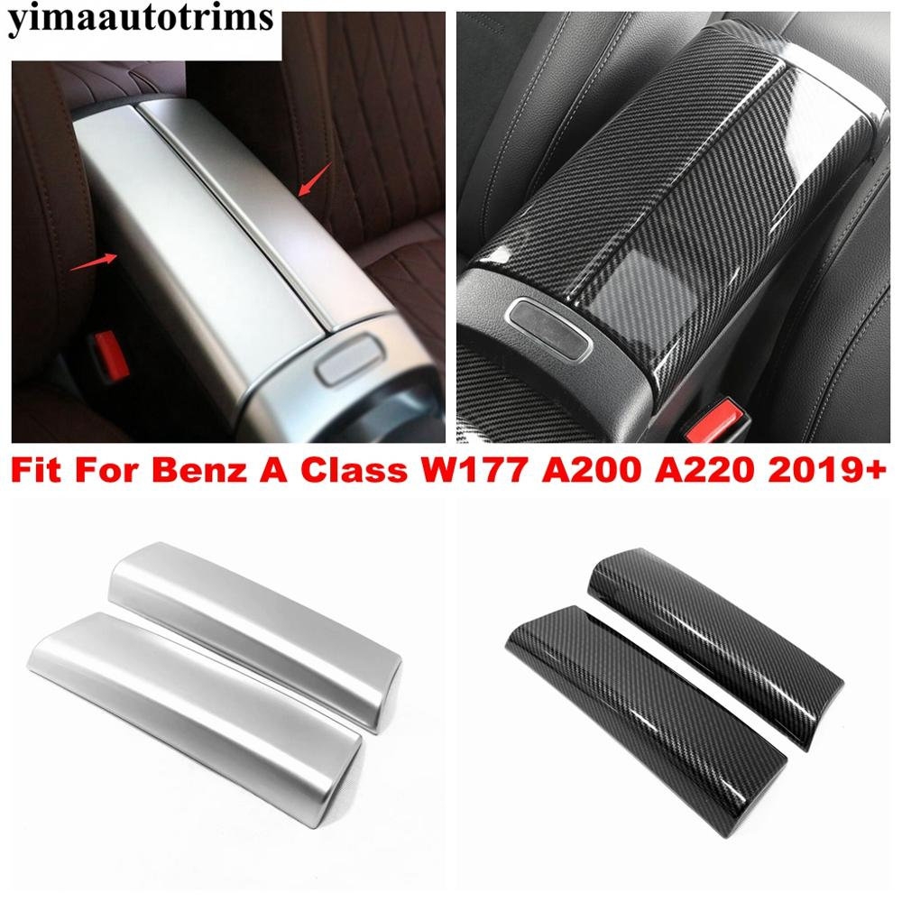 Углеродное волокно/Матовый abs аксессуары для benz a class w177