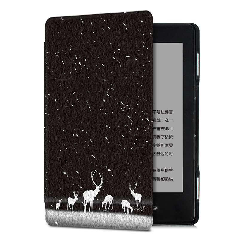 AROITA Case for <font><b>Amazon</b></font> Kindle 4/kindle 5 Keyboard Version eReader - Lightweight Slim <font><b>fit</b></font> Protective Case Fashion printing Cover image