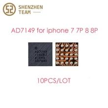 SZteam 10 יח\חבילה AD7149 U10 HTU1 D2 IC שבב עבור iPhone 7 7P 8 8 בתוספת טביעת אצבע IC להגמיש כבל ic החלפת חלקי AD7149 U10 IC