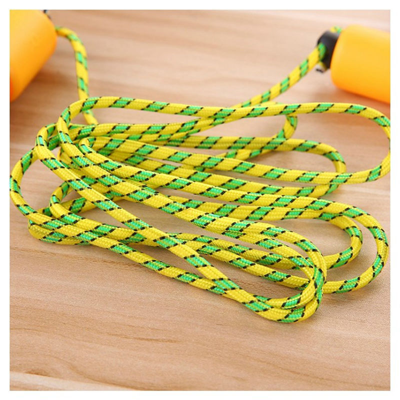 6232 Foam Rubber Grip Count Jump Rope Maker/with Numbers Jump Rope