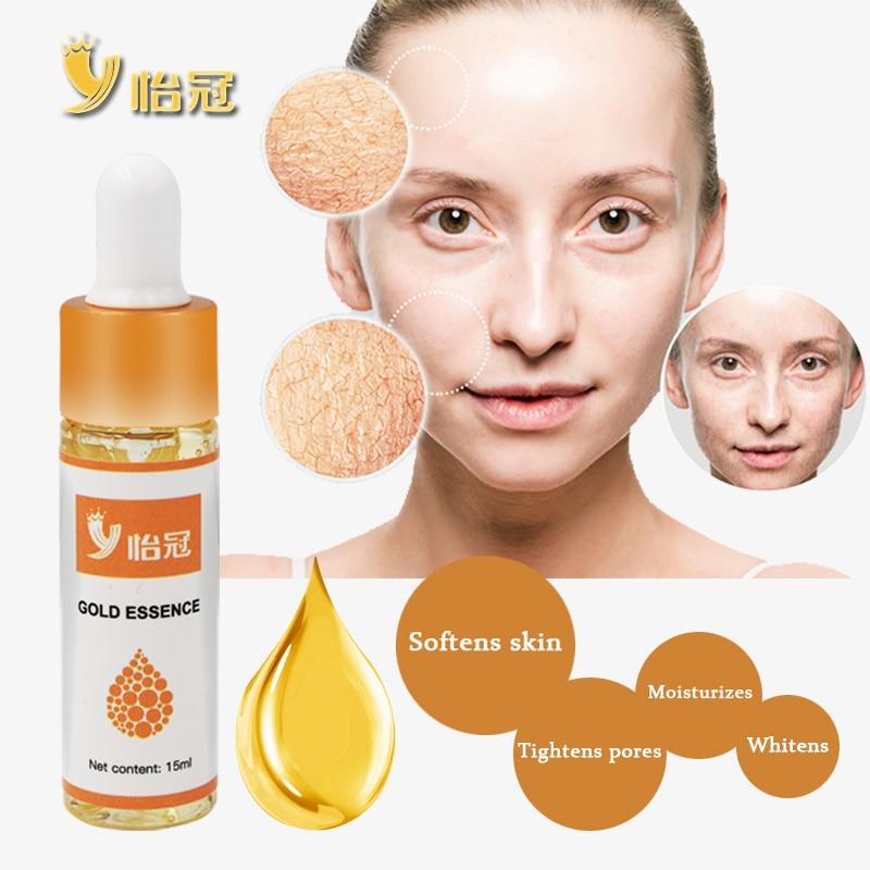 Gold 24K Face Serum Anti-wrinkle Firming Whitening Essence Anti-aging Serum Moisturizing Brighten Skin Care Skin