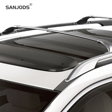 SANJODS Roof Rack Pair OE Style Aluminum Bolt-On Top Rail Roof Rack Cross Bar Luggage Carrier Replacement For Nissan Rogue 14-18 sanjods car roof rack pair roof rack top rail aluminum cross bar replacement for toyota rav4 adventure 2019 2020