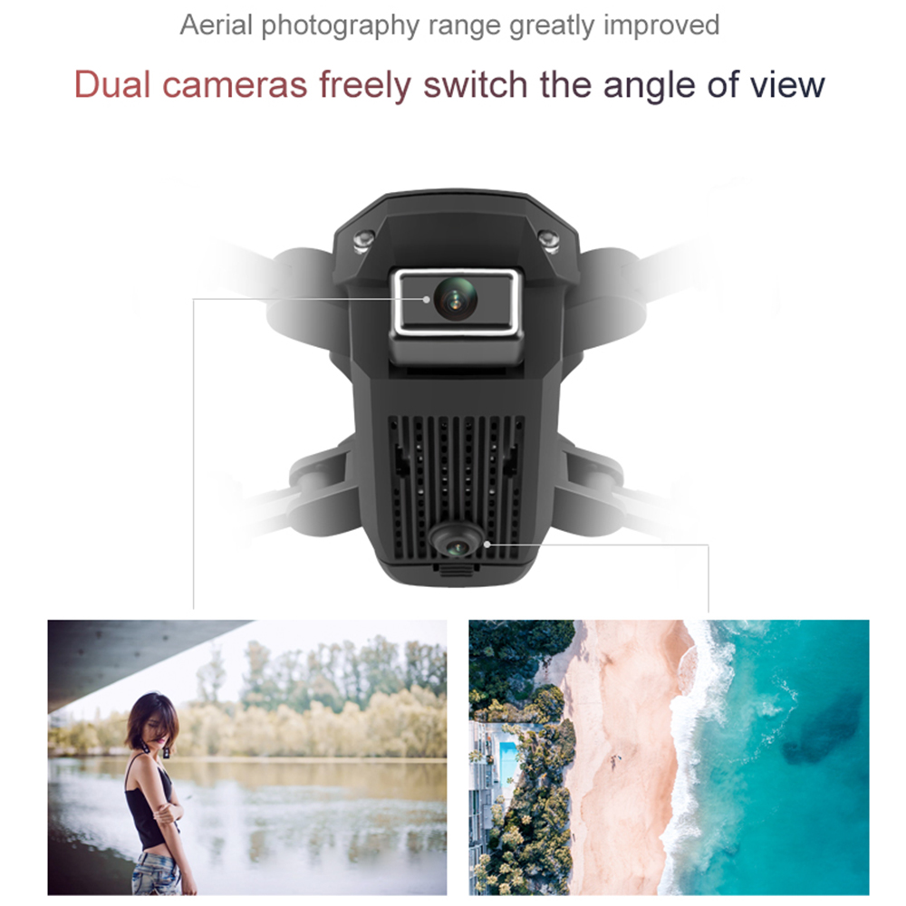 SHAREFUNBAY T1 drone 4k HD wide angle camera 1080P WiFi fpv drone dual camera height keeping drone with camera rc quadcopter 1