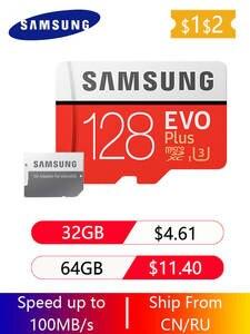 64GB Microsd Memory-Card SDHC Flash Sdxc-Grade 32G 512G 128GB SAMSUNG C10 UHS TF 256GB