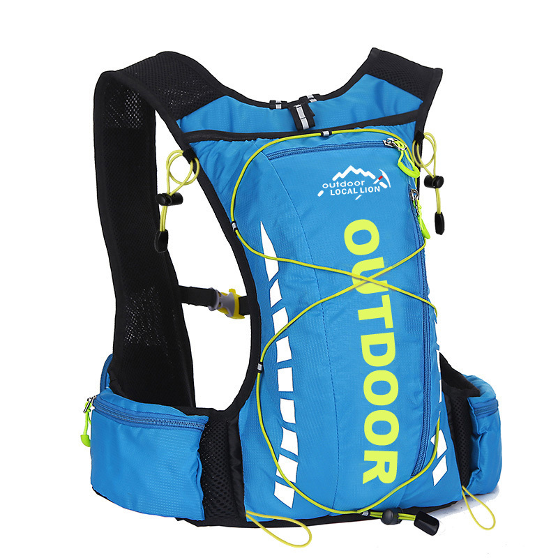 10L Cycling Backpack Running Vest Hydration Backpacks Sport Bags Men Women Outdoor Trail Marathon Running Cycling Hiking Bag