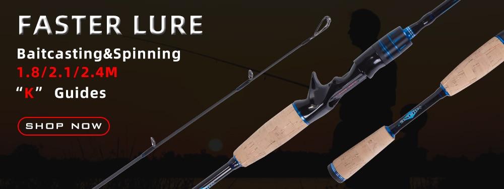 m viagem ultra leve molinete fundição flutuador pesca 10-40g vara de pólo