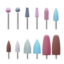 1Pcs Electric Nail Drill UV Gel Remover File Quartz Nail Drill Bits Round Cones Cutter Grinding Head for Manicure Machine Tools
