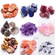 1PC naturalny kryształ kwarcowy próbki minerałów ametyst Rose Quartz nieregularny kształt chropowata skała kamień uzdrawianie Reiki Home Decoration
