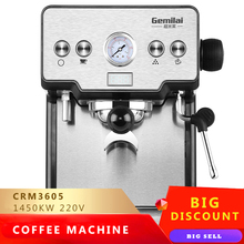 15bar Espresso Coffee Machine Milk Foam Commercial Semi-auto Italian Coffee Maker Steam Filter Milk Frother Grilled Coffee цена и фото