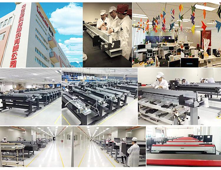 H602809e4ffa04c83a125f28bafef19c9T - Vinyl Plotter Printer 6Feet Inkjet Large Format Eco Solvente Printer 1.8 Meter Outdoor Advertisement Billboard Printing Machine