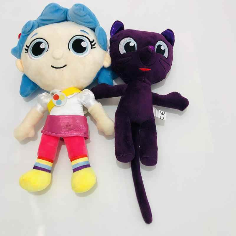 Peluches Anime Aurora True And The Rainbow Kingdom Bartleby Cats Stuffed Animals Plush Toy For Kids Gift Aliexpress
