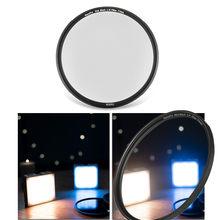 Preto pro névoa 1/4 1/8 lente filtro protetor suave foco difusor difusão para lentes de câmera semelhante a pro-névoa magia preta