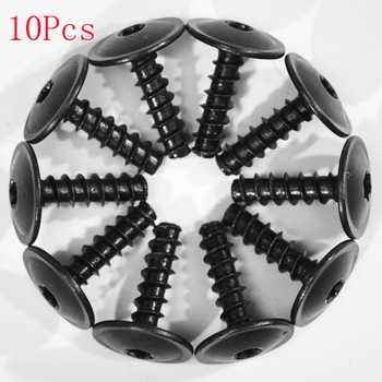 10pcs Car Engine Cover Wheel Arch Inner Liner Mud Flaps Fender Mud Splash Guard Torx Screws Self Tapping For VW/AUDI image