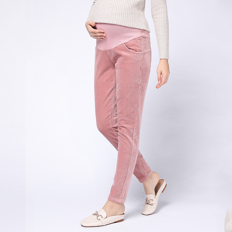Casual Adjustable Maternity Pants For Pregnant Women Maternity Clothes for High Waist Adjustable Maternity Clothing Plus Size