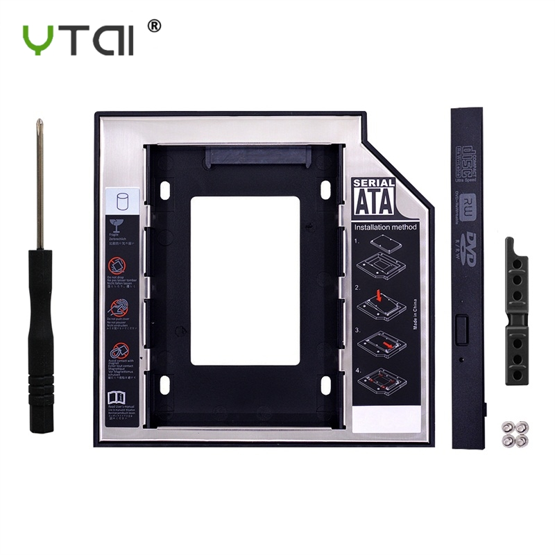 Universal SATA 3.0 2nd HDD Caddy 12.7mm For 2.5
