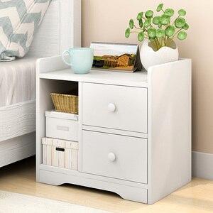 Image 3 - Szafka nocna, proste nowoczesne przechowywania ramki, szafka nocna, szafka nocna, mały stolik i małych otrzymaniu szafka