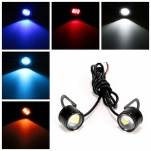 ITimo Super Bright DC 12V Motorcycle Fog Lamp Eagle Eye DRL Daytime Running Light 2PCS Tail Lamp LED Reverse Backup Light