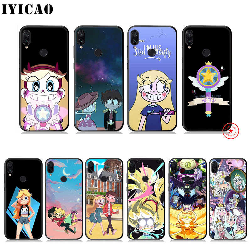 Star vs. the Forces of Evil Soft Case for Xiaomi Redmi Note 8 7 6 5 Pro for Redmi Note 5A 4X Back Silicone