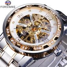 Nieuwe Product Forsing Fashion Klassieke Holle Boor Manual Mechanische Mannen Horloge Luxe Zeemeeuw Horloge Reloj Hombre Cadisen horloge