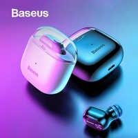 Baseus A03 biznesowe słuchawki z bluetooth Mini przenośne pojedyncze TWS bezprzewodowe słuchawki z mikrofonem dla xiaomi iPhone Huawei jazdy samochodem