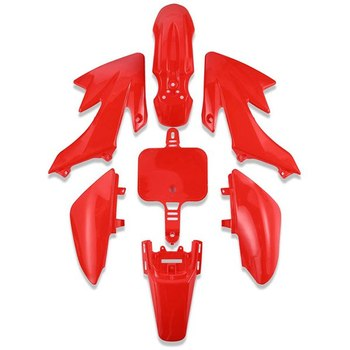 7 PCS Plastic Fender Fairing Bodywork Kit Set,Plastic Body Fender Kit for HONDA XR 50 CRF50 Chinese Mini Dirt Bikes image