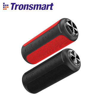 Upgraded Edition Tronsmart T6 Plus 40W TWS Speaker Portable Speaker Bluetooth 5.0 Column with IPX6,NFC,TF Card,USB Flash Drive 1