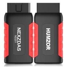 HUMZOR NexzDAS ND306 / ND201 Lite полная система OBD2 сканер OBD 2 Автомобильный сканер со специальной функцией автомобильный диагностический инструмент