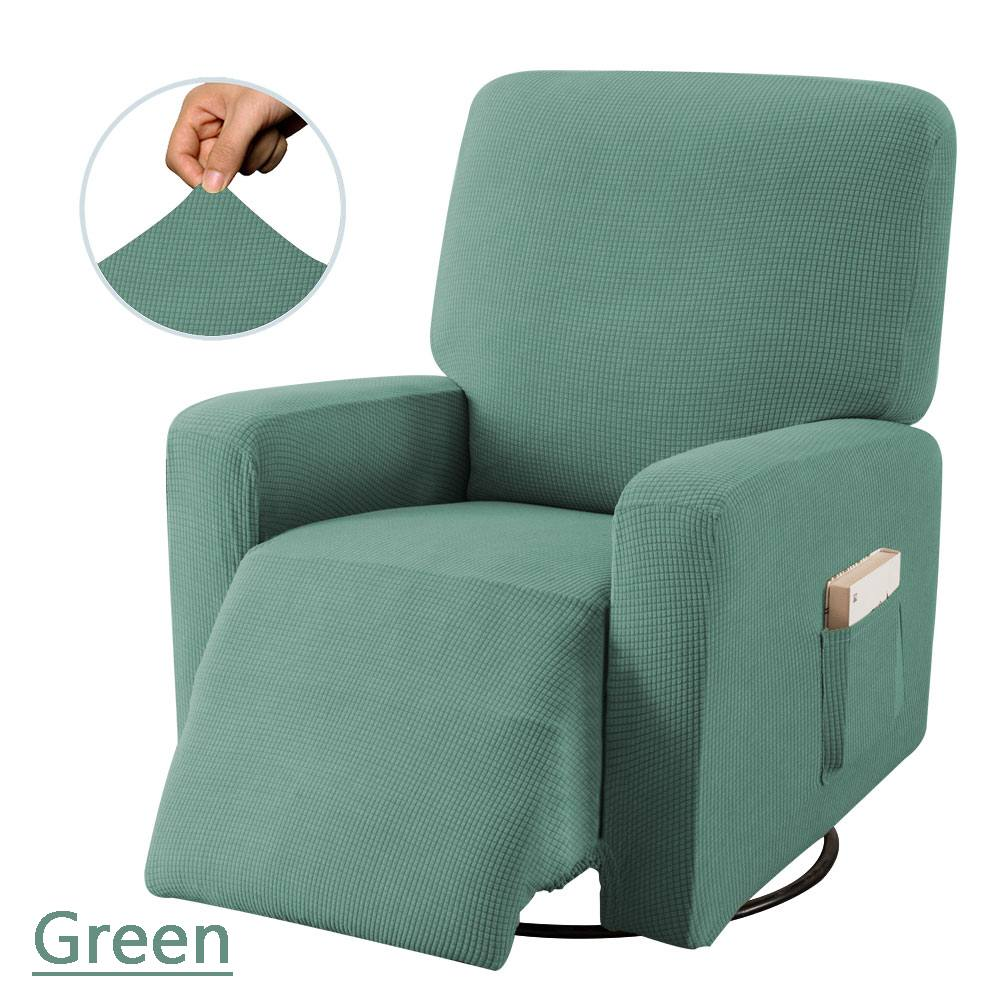 Stretch Recliner Chair Covers Washable Jacquard Fabric Non-slip Sofa Slipcovers Waterproof All-inclusive Seat Cover