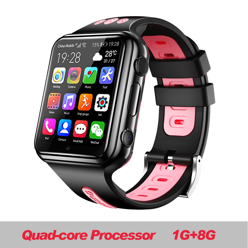 W5 2020 NFC Waterproof 4G Smartphone Watch Downloadable APP MP4 Play AI Smart Voice Reloj Inteligente Hombre Relogio Smart Iwo 8 image