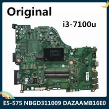 CPU DAZAAMB16E0 Laptop Motherboard Acer Aspire I3-7100U Rev:E-Ddr4 E5-575 for with LSC
