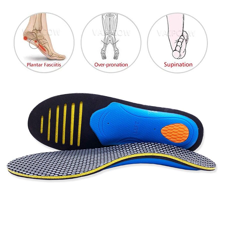 Arch Support Plantar Fasciitis Flat Feet Pronation Pad Orthotic Insoles Fine