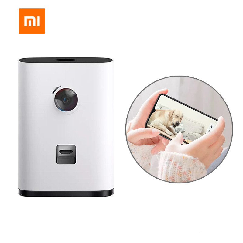 Xiaomi Mijia Pawbby HD 1080P WIFI Smart Pet Feeder Multi Purpose Snack Machine Camera Interaction Two-Way Intercom For Dog Cat