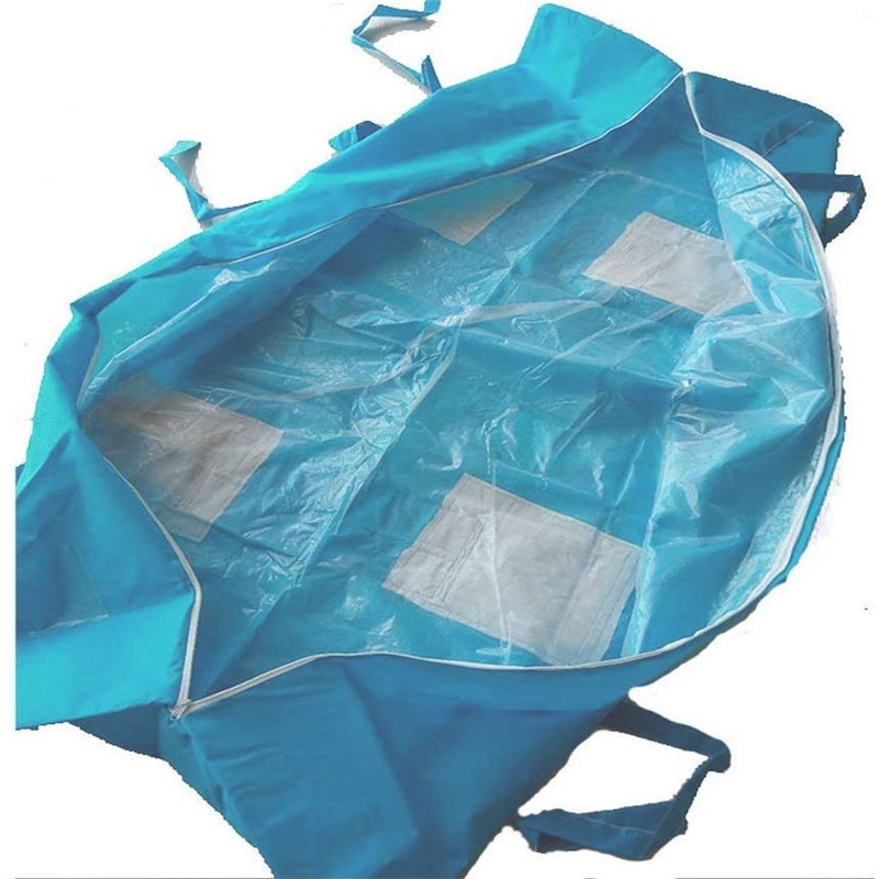 Waterproof Filling Body Bag Dead Body Bag Hospital Morgue Transportation Dead  Cadaver Bags Virus Isolation Bags 80*210cm