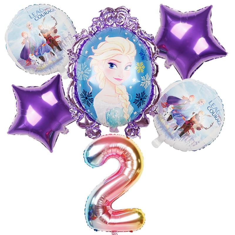 魔镜艾莎紫边数字2