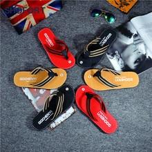 SHOFORT Men Shoes Flip Flops Men Cool Summer Slippers Home Non slip Breathable Beach Shoes Outdoor Sandals Zapatos De Hombre