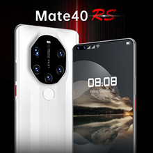 Global Version Mate40 RS 7.3Inch Smartphone 10Core 6800mAh 16+512GB Full Screen Support Face\Fingerprint ID 5G Android Cellphone