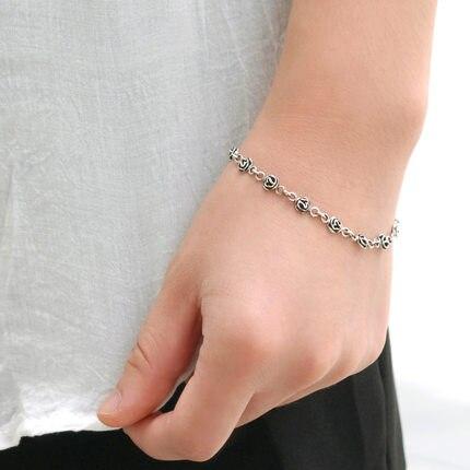 NEW 100% 925 Sterling Silver Spanish Bear Jewelry Women Bracelet121 Original Fashion Original Jewelry Gift Free Delivery
