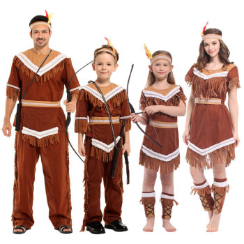 Umorden Halloween Women Indian Princess Costumes Kids Girls Pocahontas Huntress Costume Purim Party Mardi Gras Fancy Dress virginia watson princess pocahontas