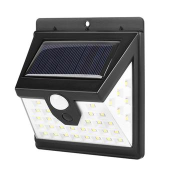 1/2/4 Uds 40 LED luz Solar al aire libre 3 Sensor de movimiento PIR lateral luz de pared impermeable lámpara Solar luz Solar decoración de jardín