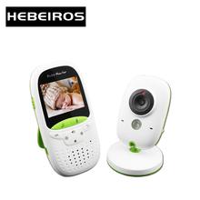 Hebeiros 3 2 cal elektroniczna niania VB602 niani bezprzewodowa kamera do monitoringu Night Vision Monitor temperatury duża odległość tanie tanio wireless Wideo i Audio Rohs 480tvl CN (pochodzenie) color 320*240 CMOS Domofon Dziecko Cry Alarmu Detekcja ruchu Karmienie Przypomnienia Czasu